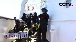 [中国新闻] 中俄南非海上联合演习完成实兵演练 | CCTV中文国际
