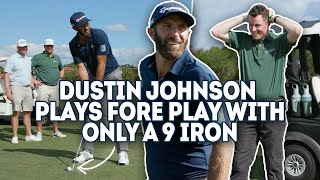 Dustin Johnson vs. Fore Play - One Club Challenge, 9 iron
