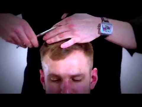 видео урок стрижки мужские машинкой