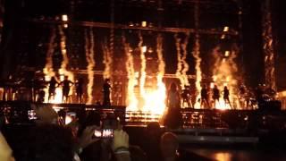 Abertura Run The World Mrs Carter Show World Tour '' FORTALEZA '' 08/09