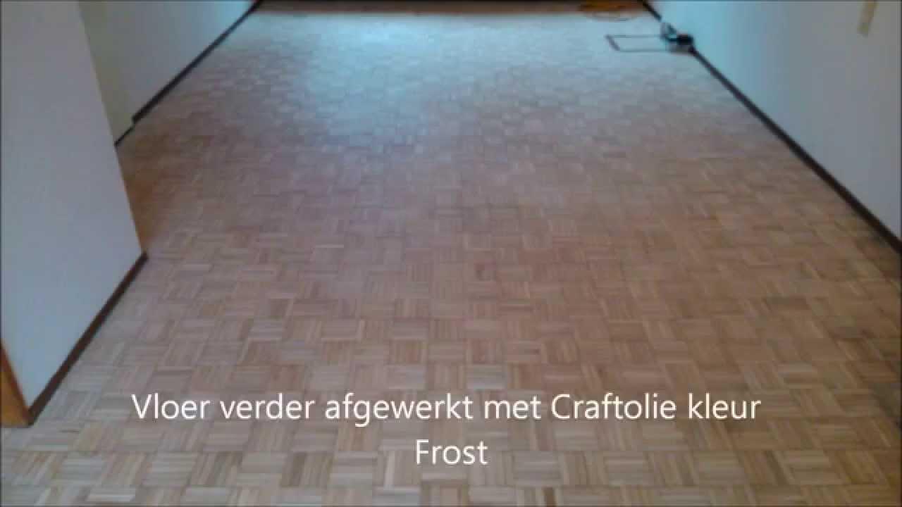 Eiken Mozaik, parket schuren afwerken met Nordic Tone en Craft olie kleur Frost   YouTube