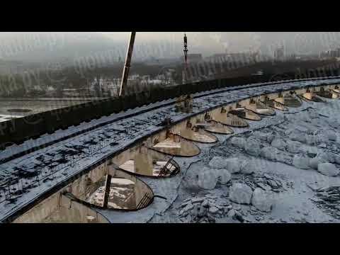 """""""Фонтанка"""" сняла момент обрушения СКК"""