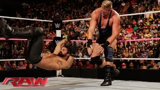 Jack Swagger vs. Seth Rollins: Raw, Oct. 13, 2014