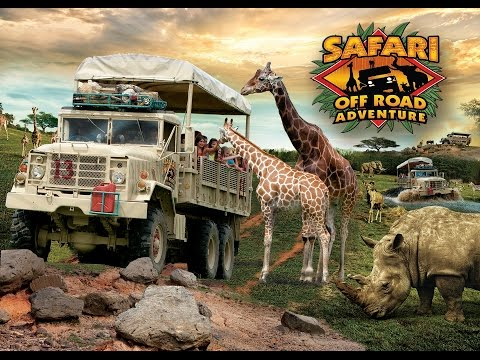 Six Flags Great Adventure Safari Off Road Adventure August 18, 2016