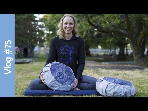How to Make a Meditation Cushion Cover DIY