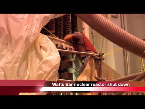 Watts Bar Nuclear Plant shut down - problem near reactor