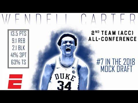 Wendell Carter Jr.'s 2018 NBA Draft Scouting Video   DraftExpress   ESPN