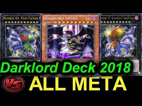 【YGOPRO】DARKLORD VS...ALL META DECKS 2018