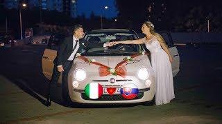 Gambar cover Wedding video - Svadobný klip Linda & Gianluca, Bratislava Technopol