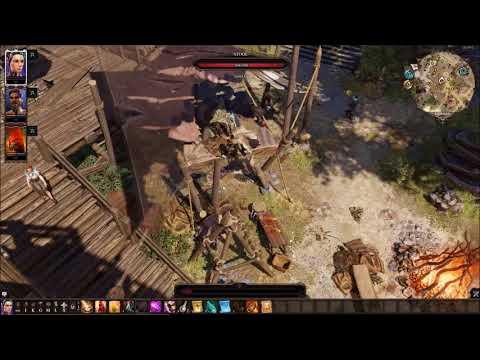 Divinity Original sin 2 Camp boss fight