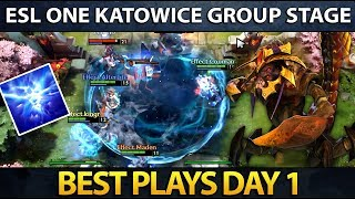 ESL One Major Katowice - Best Plays - Day 1