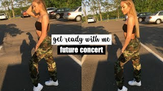 Concert Get Ready With Me: Makeup & Outfit | Maddie Cidlik