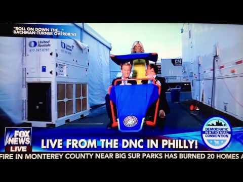 Wheel Fun Rentals Deuce Coupe on Fox & Friends!