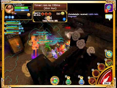 Arcane Legends - Farm energy essence tomb 4