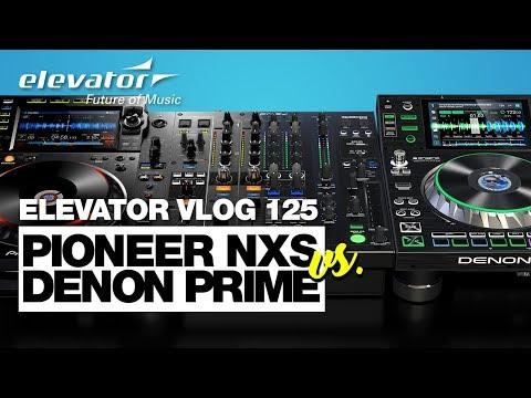 Pioneer Nexus VS Denon Prime - DJ Mixer, Player Vergleich (Elevator Vlog 125 deutsch)