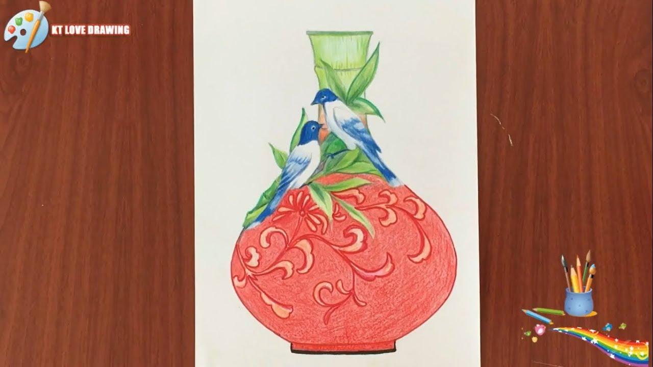 Tạo dáng và trang trí lọ hoa -1 / Design and decorate vases