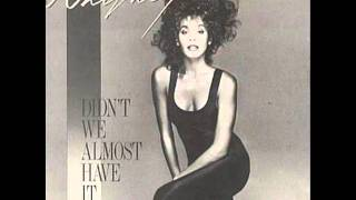 Hold On, Help Is on the Way-Whitney Houston