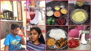 #DIML Routine Vlog/1yr Baby Food Ideas In Telugu/Watermelon Juice for Lucky/Aloo Curry Making #Home