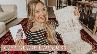 Holiday Gift Guide Under $50 | Everyone On Your List!