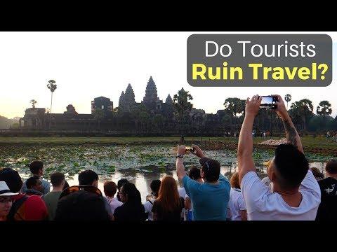 Do Tourists Ruin Travel? | Angkor Wat, Cambodia