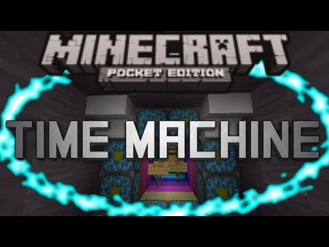 how to build a time machine in minecraft