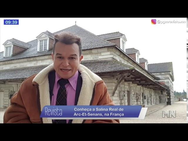 A Salina Real de Arc-et-Senans na França