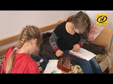 Дети, пострадавшие от войны в Украине, приехали в Беларусь на каникулы