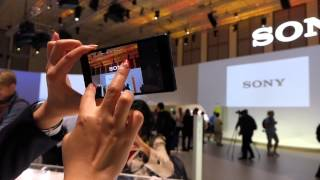 Sony XPERIA Z5 series DEMO at IFA 2015