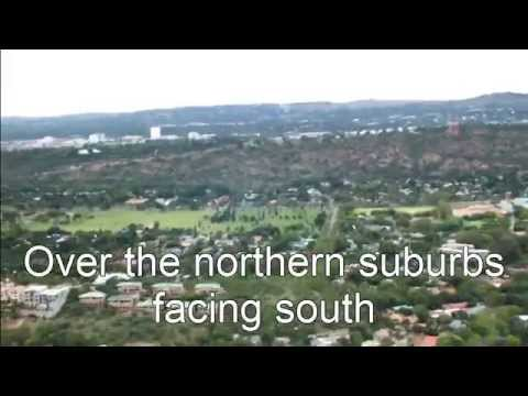 Snippets from a helicopter over Pretoria