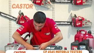 CASTOR CP 4545 MOTORLU TESTERE KURULUM KULLANIM
