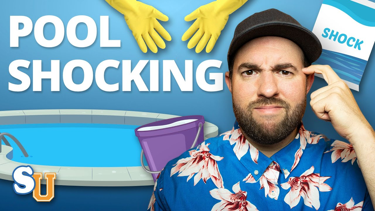 How to shock a pool youtube - How long after you shock a pool can you swim ...