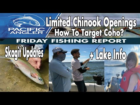 Vancouver Fishing Report // July 17 // How To Catch Coho + Skagit, Vedder And Interior Lake Reports