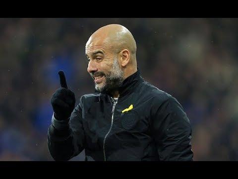 Pep Guardiola defies FA and wears yellow ribbon at Wembley