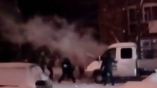 В Верхней Салде вспыхнула грузовая «Газель», 24.12.2016