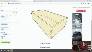 Hoe parametrische doosjes en flexibele scharnieren laseren - FLEM Live 3