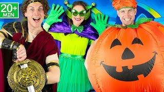 Halloween Songs for Children - Halloween Rules, Let's Get Spooky, Halloween Stomp, Skeleton Dance