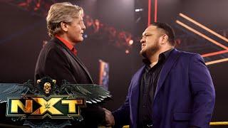 Samoa Joe returns to confront Karrion Kross: WWE NXT, June 15, 2021