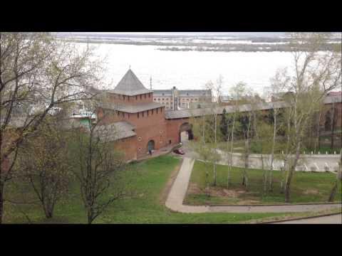 Нижний Новгород - прогулка по Кремлю