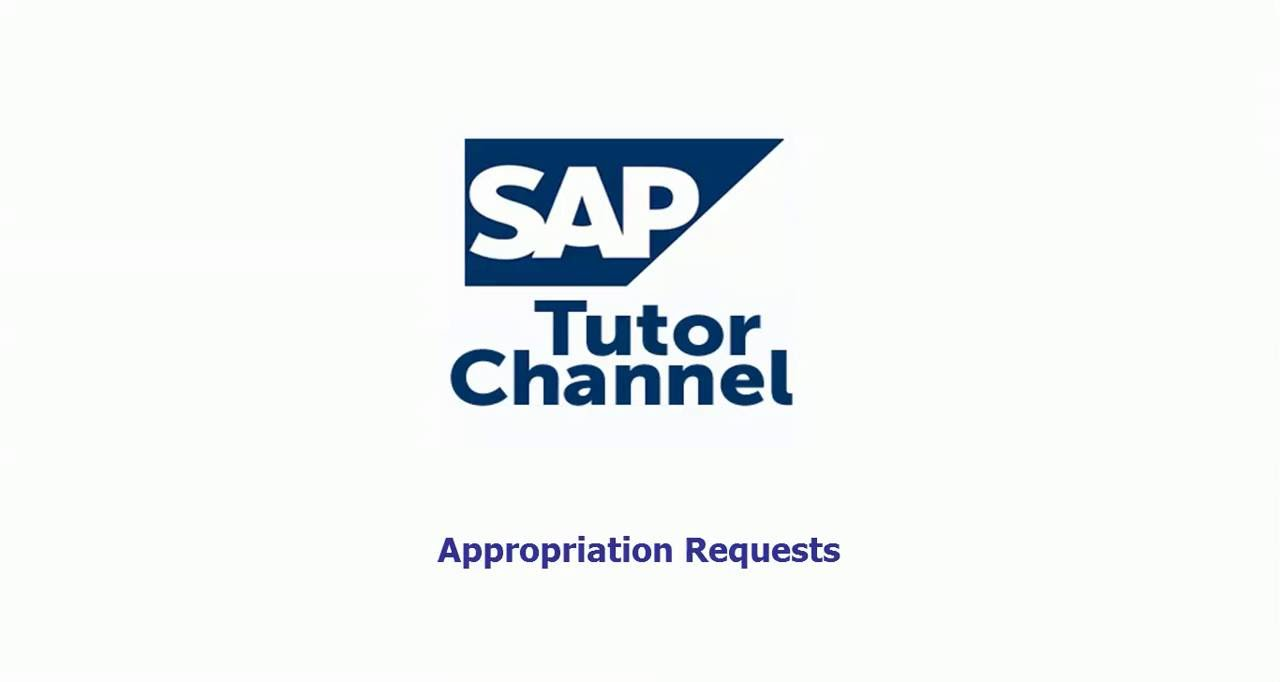 Accounting Appropriation Requests