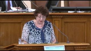 Как ще се погрижите за академията в Свищов,запита Мариана Бояджиева
