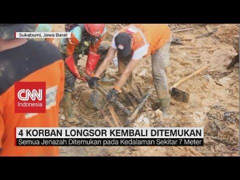 Empat Korban Longsor Cisolok Sukabumi Kembali Ditemukan Mp3