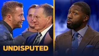 Greg Jennings doesn't have a problem with Belichick & McVay talking during season | NFL | UNDISPUTED