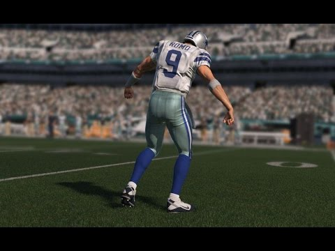 Dallas Cowboys QB Tony Romo Out Indefinitely - Broken Bone in Back