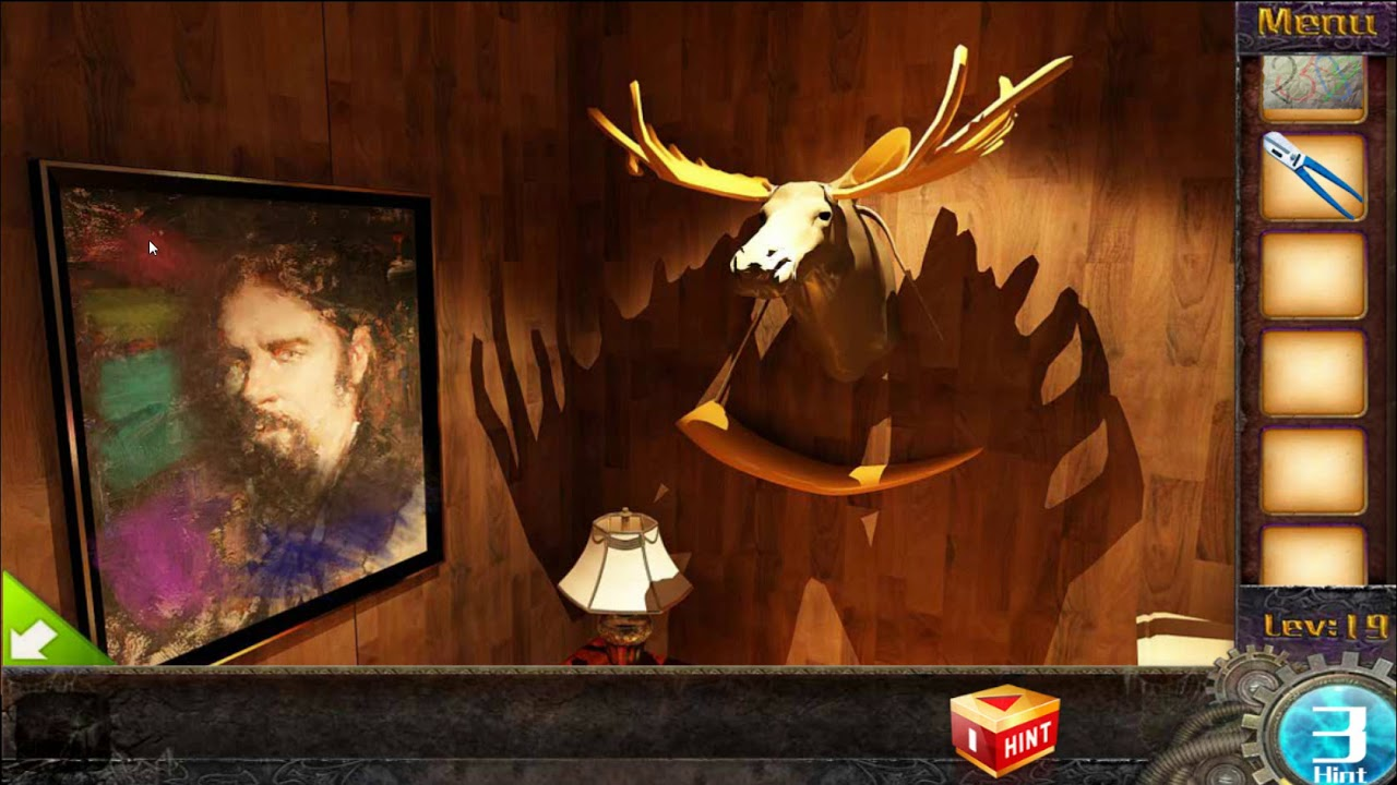 Escape Game 50 Rooms 1 Level 19 Walkthrough Youtube