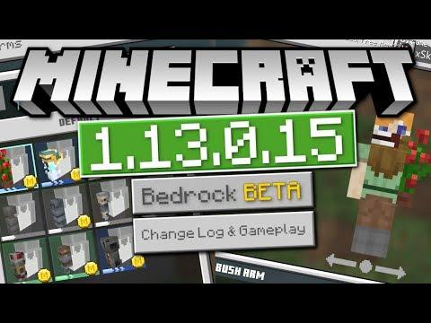 minecraft-bedrock-1.13.0.15-beta-out-now-!-skins-creator-!-[-change-log-]-mcpe-/-xbox-/-windows-10