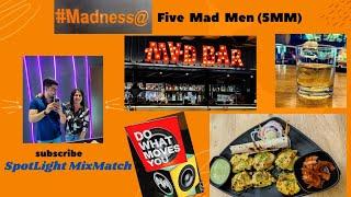 Five Mad Men | Sports Gastropub in Kolkata | 5MM @ Sector - V Saltlake