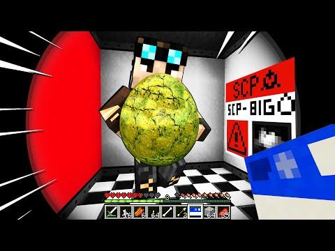 NON ROMPERE L'UOVO GIGANTE!! - Minecraft SCP BIGEGG