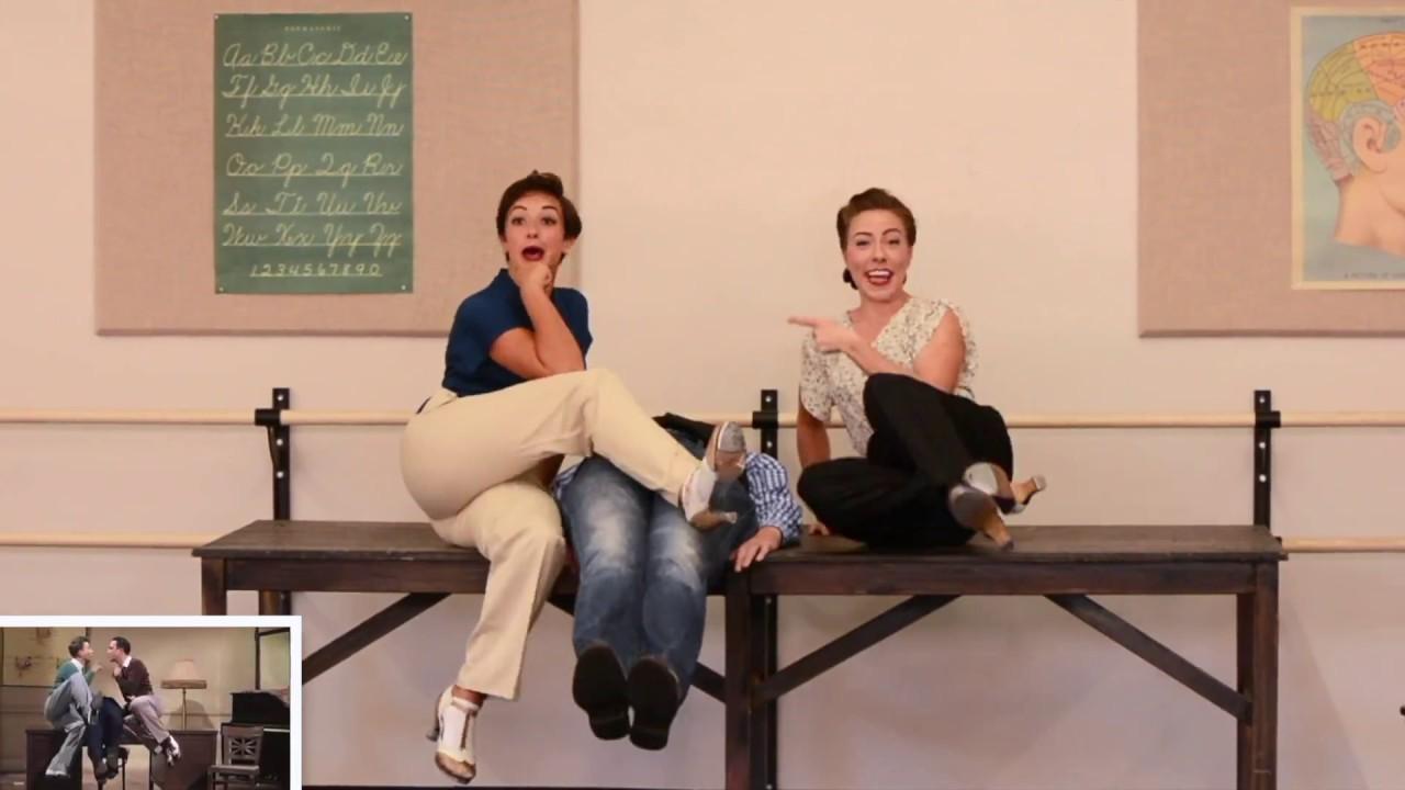 MOSES SUPPOSES (Backwards and in Heels) | Katharine Quinn + Ashley Marinelli