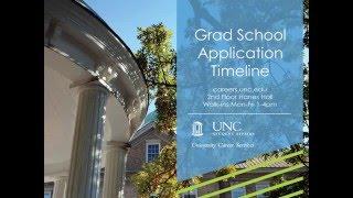 Grad School Application Timeline