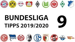 Bundesligatipps 9.Spieltag 2019/2020